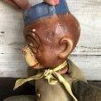 画像7: Vintage 1930s Monkey Bellhop Doll Composition (MA503)
