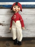 Vintage 1960s Wimsie Doll Zero The Football Player (T131)