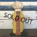 Vintage Kahn's Hot Dog Pillow Doll (T136)