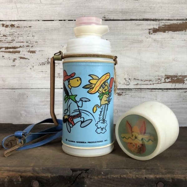 画像1: Vintage Quick Draw McGraw / Water Bottle (T145)