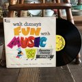 Vintage LP Disney Fun with Music (T157)