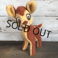 70s Vintage Disney Bambi Plush Doll (T178)