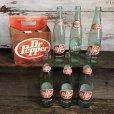 画像1: Vintage Dr Pepper 6 Bottle Pac Set (T186)  (1)