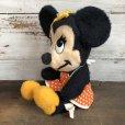 画像2: Vintage Disney Minnie Mouse Plush Doll 28cm (T174) (2)