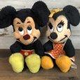 画像9: Vintage Disney Minnie Mouse Plush Doll 28cm (T174)