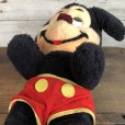 画像5: Vintage Disney Mickey Mouse Plush Doll 29cm (T173)