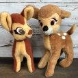 画像10: 70s Vintage Disney Bambi Plush Doll (T177)