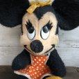 画像8: Vintage Disney Minnie Mouse Plush Doll 28cm (T174)