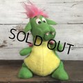70s Vintage Disney Elliot Dragon Plush Doll (T179)