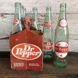 画像4: Vintage Dr Pepper 6 Bottle Pac Set (T186)