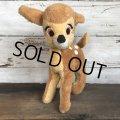 70s Vintage Disney Bambi Plush Doll (T177)