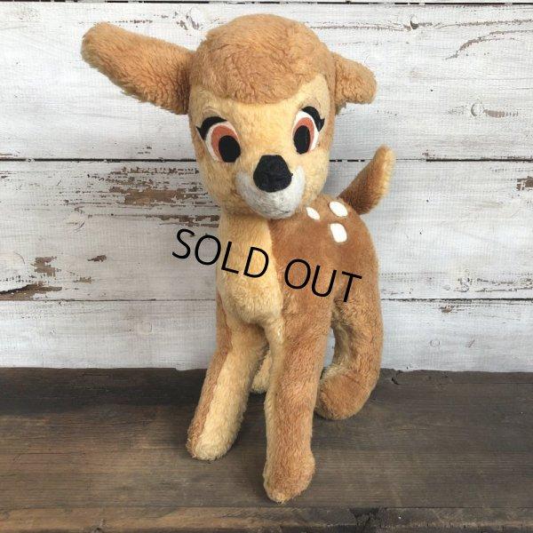 画像1: 70s Vintage Disney Bambi Plush Doll (T177)