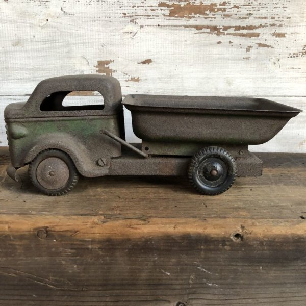 画像2: 30s 40s Vintage Richmond Toy Dump Truck (T192)