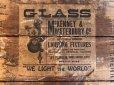 画像10: Vintage McKENNEY&WATERBURY Necco Sweets Wooden Crate Box (T194)