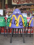 Vintage Mcdonald's Playland Chair Grimace (S198)