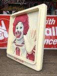 画像3: Vintage Ronald McDonald 3D Wall Sign (S202)