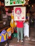 画像9: Vintage Ronald McDonald 3D Wall Sign (S202)