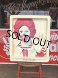 Vintage Ronald McDonald 3D Wall Sign (S202)