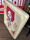 画像5: Vintage Ronald McDonald 3D Wall Sign (S202)