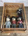 1900s Antique Hohner Harmonica Counter Store Display Case (T203)