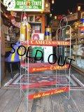 50s Vintage CAMEL Cigarette Store Display Wire Rack (T204)