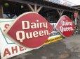 画像1: Vintage DAIRY QUEEN Huge Sign (T218) (1)