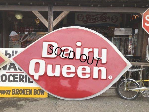 画像2: Vintage DAIRY QUEEN Huge Sign (T217)