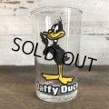 1976 Vintage Glass Looney Tunes Welch's  Daffy Duck (w460)
