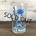 1976 Vintage Glass Looney Tunes Welch's  Road Runner (w458)