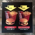 画像6: 1991 Vintage McDonalds Trance Light Sign CHEESEBURGER COMBO (T219)