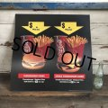1991 Vintage McDonalds Trance Light Sign CHEESEBURGER COMBO (T219)