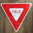 画像4: Vintage Road Sign YIELD (T223)
