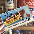 1960s Vintage Advertising Store Decals Sign Hershey's Mr.Goodbar (T233)