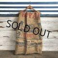 Vintage Planters Mr. Peanut Burlap Bag (T269)