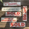 画像8: Vintage Sign SHOWN BY APPOINTMENT ONLY (T289)