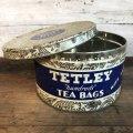 Vintage Can TETLEY Hundreds TEABAGS (T936)