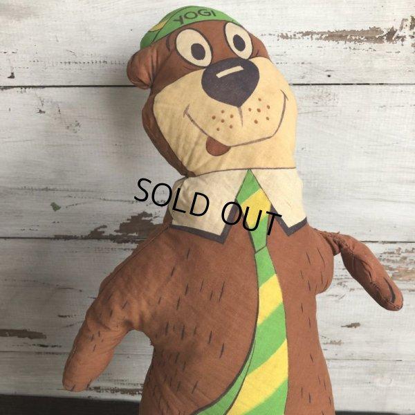 画像3: Vintage Yogi Bear Pillow Doll  (T301)