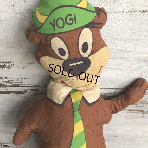画像2: Vintage Yogi Bear Pillow Doll  (T301)