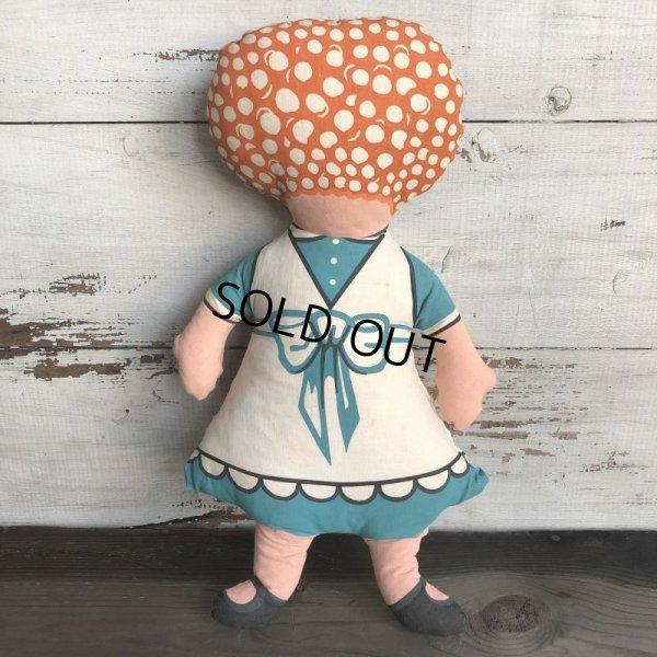 画像4: Vintage Chore Girl Pillow Doll  (T296)