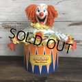 Vintage 1950's Bozo The Clown Animated Store Display (T318)