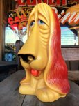 画像6: 70s Vintage My Toy Plastic Bank Basset hound SAD EYE DOG (T321)