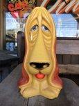 画像2: 70s Vintage My Toy Plastic Bank Basset hound SAD EYE DOG (T321)  (2)