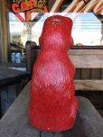 画像4: Vintage Psychedelic Hippie Frog Piggy Bank Red (T324)