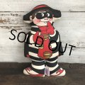 80s Vintage McDonald's Pillow Doll Hamburglar (T346)