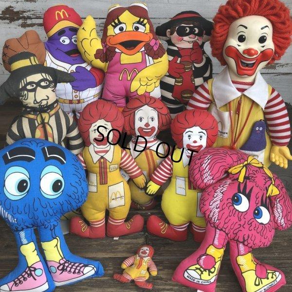 画像4: 80s Vintage McDonald's Pillow Doll Ronald Mini (T347)