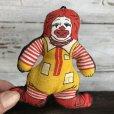 画像2: 80s Vintage McDonald's Pillow Doll Ronald Mini (T347)  (2)