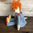 画像9: 60s Vintage Knickerbocker BOZO the Clown Doll (T375)