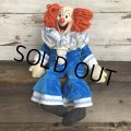60s Vintage Mattel BOZO the Clown Doll (T376)
