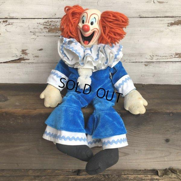 画像1: 60s Vintage Mattel BOZO the Clown Doll (T376)