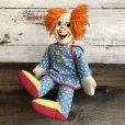 画像1: 60s Vintage Knickerbocker BOZO the Clown Doll (T375) (1)